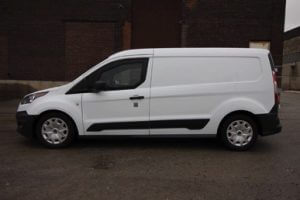TAG 2018 Armored Ford Transit Connect Side