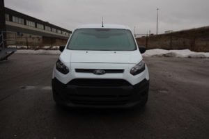 TAG 2018 Armored Ford Transit Connect Front