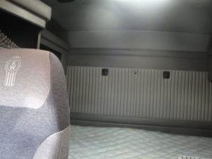 Armored Kenworth Interior