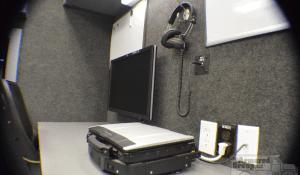 TAG Law Enforcement: Hostage/Crisis Negotiator HNT Headset Laptop Monitor Desk