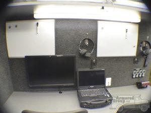 TAG Law Enforcement: Hostage/Crisis Negotiator HNT Desk View Laptop Monitor Dry Erase Board