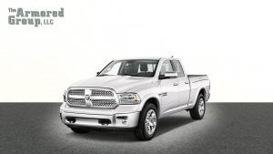 TAG Silver armored Dodge Ram 1500 truck picture