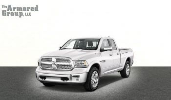 Silver armored Dodge Ram 1500 truck picture