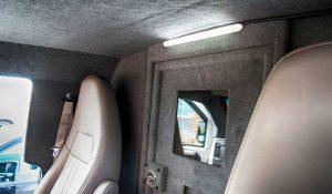 TAG Cab of bulletproof Chevrolet/GM 2500 & 3500 cargo van