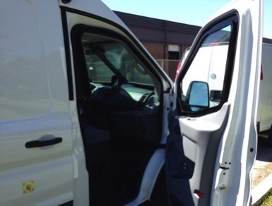 TAG Ford Transit 250 CIT Passenger Door Open