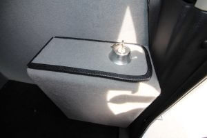 TAG Armored Dodge Ram 1500 Bullet Proof Box With Lock Key Insterted