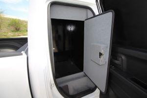 TAG Armored Dodge Ram 1500 Bullet Proof Wall Door Open Inside Back Door