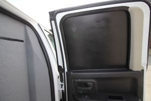TAG Armored Dodge Ram 1500 Interior Door Panel Window Proof