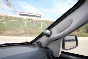 TAG Armored Dodge Ram 1500 Surveillance Cameras on Dashboard
