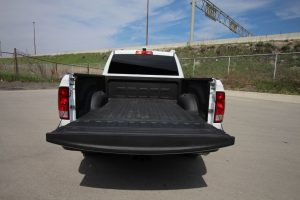 TAG Armored Dodge Ram 1500 Tailgate Open Rear View