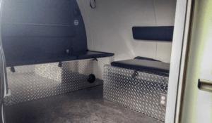 TAG Law Enforcement: Raid Van-GMC Bench Seats
