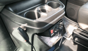 TAG Law Enforcement: Raid Van-GMC Cupholders Switch Control