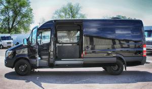 TAG Law Enforcement: Raid Van-Sprinter/Warrant Van Driver Side Door Open