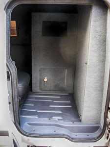 TAG Armored Ford Transit ConnectRear Bullet Proof Door