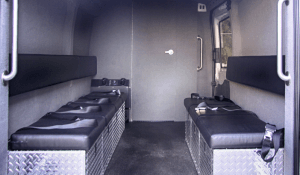Law Enforcement: Raid-Ford Transit/Warrant Van Bench Seats