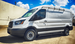 TAG White non-armored Ford law enforcement raid and warrant van picture
