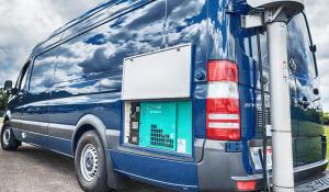 Law Enforcement: Communications/Command CentersDriver Rear Corner Door Open