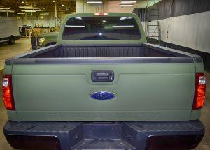 TAG Armored Ford F350 Rear Tailgate