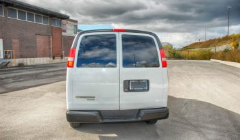 TAG Armored Chevy/GM 2500 & 3500 Passenger Van Rear