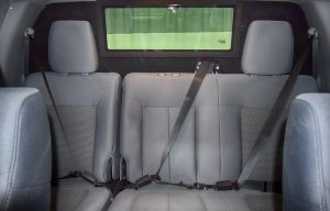 TAG Armored Ford F350 Rear Interior