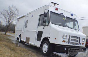 TAG Law Enforcement: Hostage/Crisis Negotiator HNT Front Side Corner View White