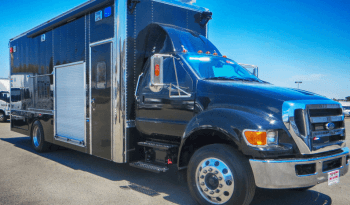 Black non-armored Ford RDV F-650 law enforcement vehicle picture