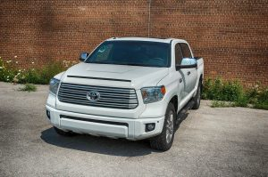 TAG Armored Toyota Tundra Front