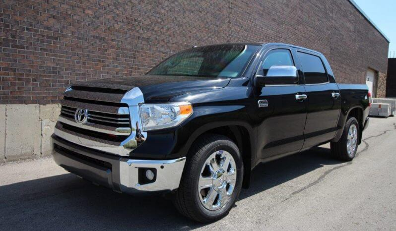 Black armored 2016 Toyota Tundra truck picture