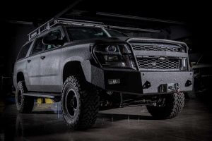 TAG Armored Tactical SWAT Suburban Front Corner View