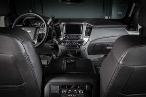 TAG Armored Tactical SWAT Suburban Front Cabin Cockpit View