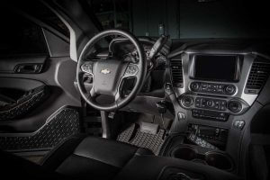 TAG Armored Tactical SWAT Suburban Front Cockpit Steering Wheel