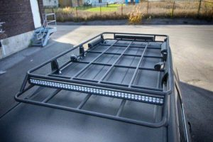 TAG Armored Tactical SWAT Suburban Exterior Roof Top Railing