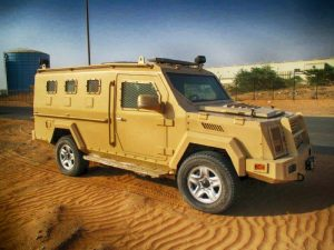 TAG Tan armored BATT-T with Toyota 4x4 chassis picture