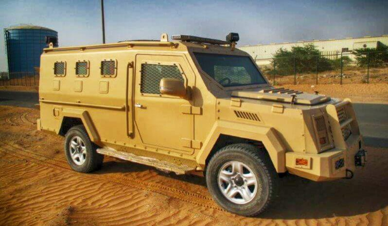 Tan armored BATT-T with Toyota 4x4 chassis picture