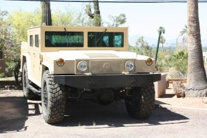 TAG Armored Hummer Tan armored Hummer military vehicle picture