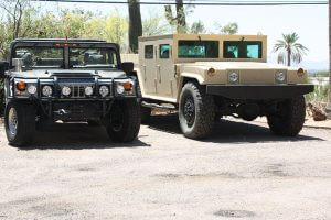TAG Armored Hummer Front Grille View Multiple Trucks
