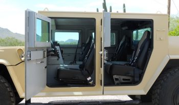 Interior bulletproof armored Hummer military vehicle
