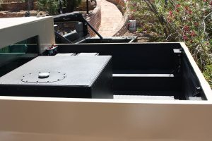 TAG Armored Hummer Tailgate Bed Bullet Proof Box