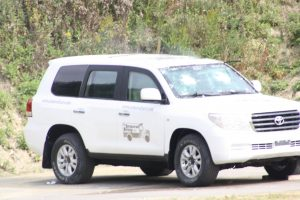 TAG Toyota Land Cruiser (TLC) 200 Series VR7 VPAM Corner View Bulletproof Testing