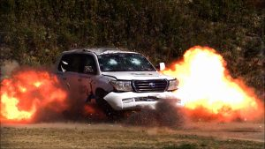 TAG Toyota Land Cruiser (TLC) 200 Series VR7 VPAM Explosion Outdoors