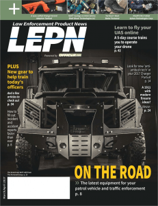 TAG Law Enforcement Product News Features The Armored Group in Cover Story