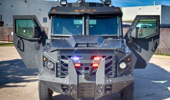 Picture of BATT-X armored vehicle with emergency lights and siren system