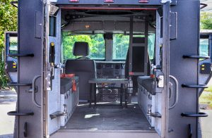 Picture of BATT-X armored vehicle interior