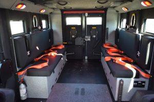 TAG BATT X Turret Internal Bench Seats