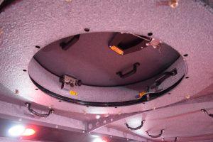TAG BATT X Armored Truck Interior View Roof Top Access Door