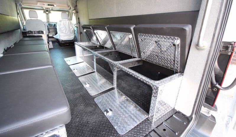 TAG Armored Protector Van Series Bench Seats Open Passenger Side