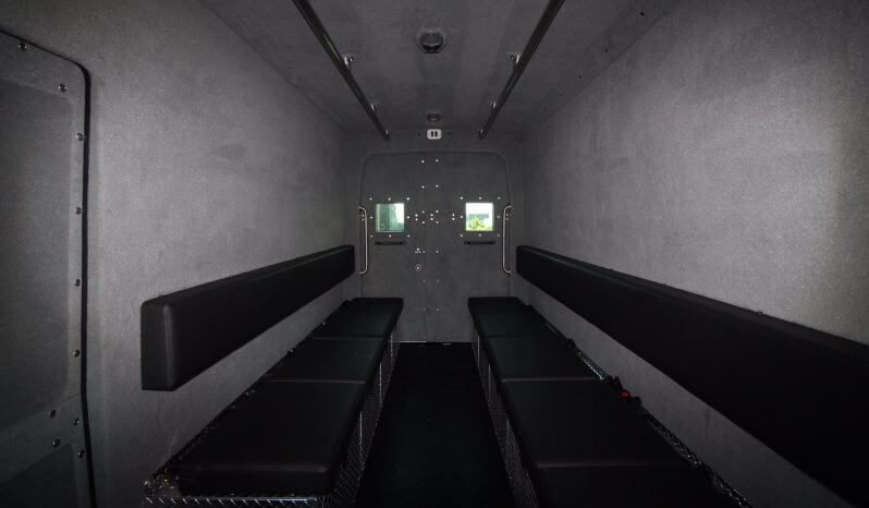 TAG Armored Protector Van Series Interior Front Back