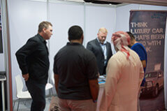 The Armored Group Exhibits at SEMA Middle East Business Development Program