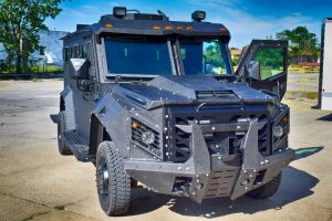 The Armored Group Launches the Latest Ballistic Armored Tactical Transport