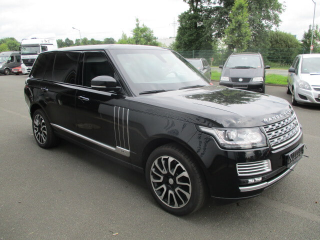 Armored Range Rover HSE, Bulletproof SUV: The Armored Group